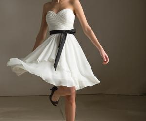a-line prom dress image