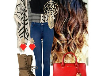 fashion, polyvore set, and outfit image