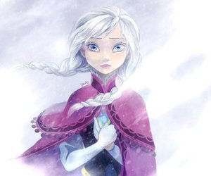 frozen, anna, and art image