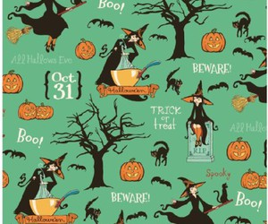 background, Halloween, and prints image
