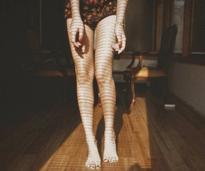 legs, vintage, and photography image