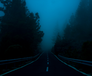 dark, grunge, and road image