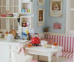 doll, doll house, and miniature image