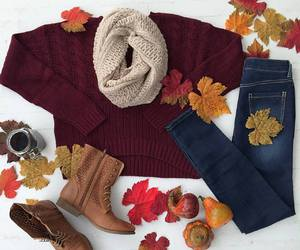 boots, fall, and autumn image