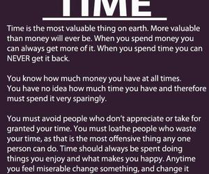 time, quote, and life image
