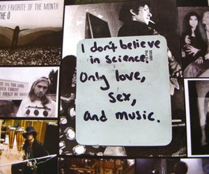 music, sex, and love image
