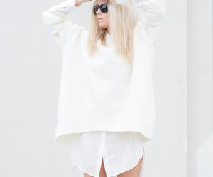 minimalistic, model, and outfit image