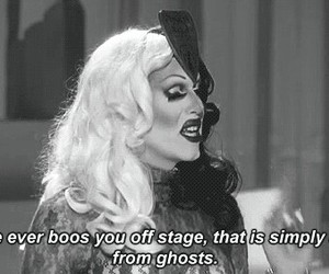 applause, quote, and sharon needles image