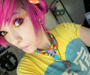 girls, Leda, and pink image