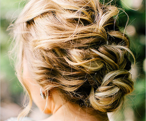 hair, hairstyle, and pretty image