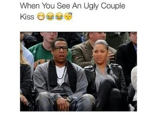 couple, queen b, and jayz image