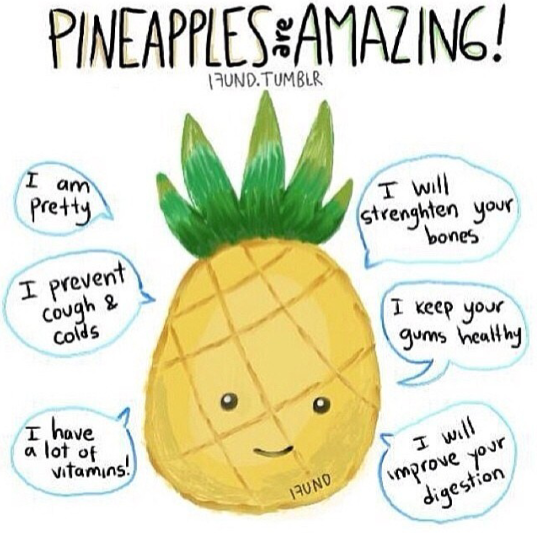 pineapples are amazing uploaded by Amy Burns
