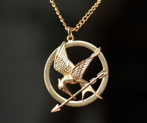 accessories, necklace, and hunger games image