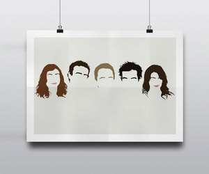 himym, minimal, and posteritty image