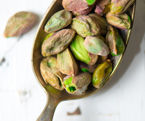 delicious, spoon, and pistachios image