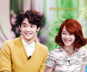 couple, fx, and kpop image
