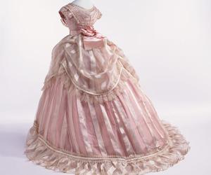 dress, pink, and feminine image