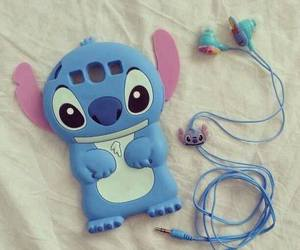 stitch, blue, and case image