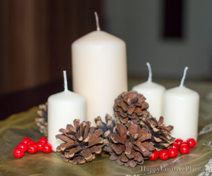 centerpiece, decor, and fall image