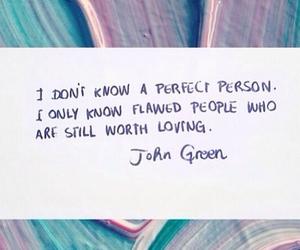 john green, love, and perfect image
