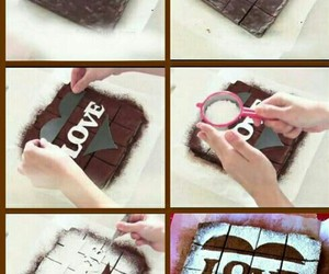 awesome, chocolate, and love heart image
