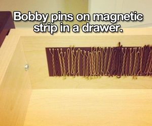 diy and bobby pins image