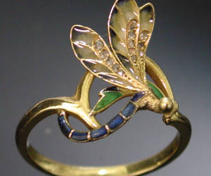 Art Nouveau, womens clothing, and ring image