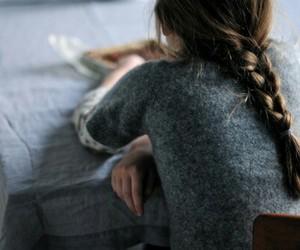 girl and braid image