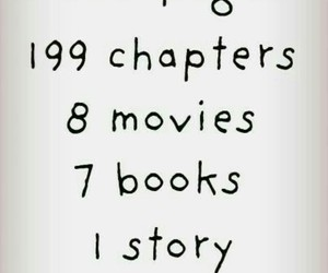 book, harry potter, and movies image