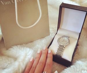 luxury, clock, and fashion image