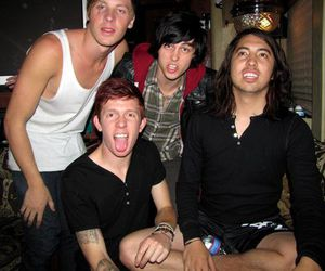 kellin quinn, alan ashby, and sleeping with sirens image