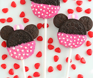 oreo, mickey mouse, and minnie image