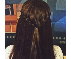 braid, girl, and daily image