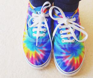 vans, hipster, and shoes image
