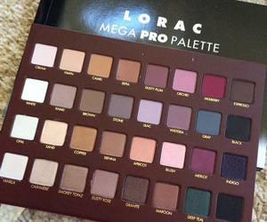 makeup, lorac, and fashion image
