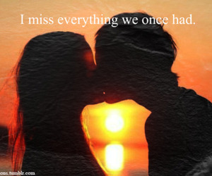 kiss, memories, and quote image