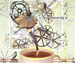 anime, tomoe mami, and madoca magica image