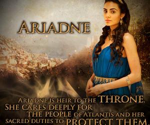 atlantis, bbc, and princess ariadne image