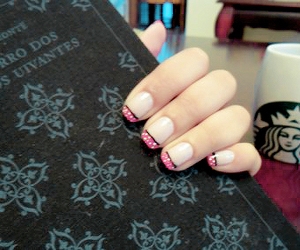 nails, starbuks, and the wuthering heights image