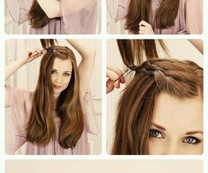 beautifuul, diy, and hair image