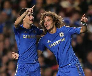 oscar and david luiz image