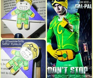 5sos, don't stop, and calum hood image