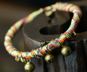 bells, rope, and boho image