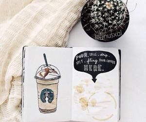 coffee, comfort, and starbucks image
