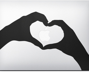 apple, love, and ♥ image