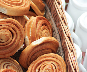 cinnamon rolls and food image