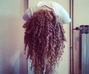 crazy, curls, and hairstyle image
