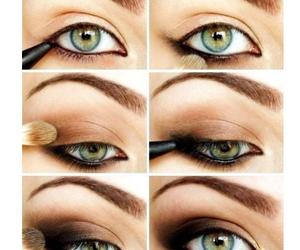 eye, eye shadow, and Make - up image
