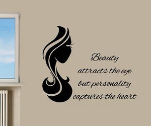 beauty, quote, and vinyl sticker image