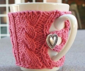 pink, cup, and heart image